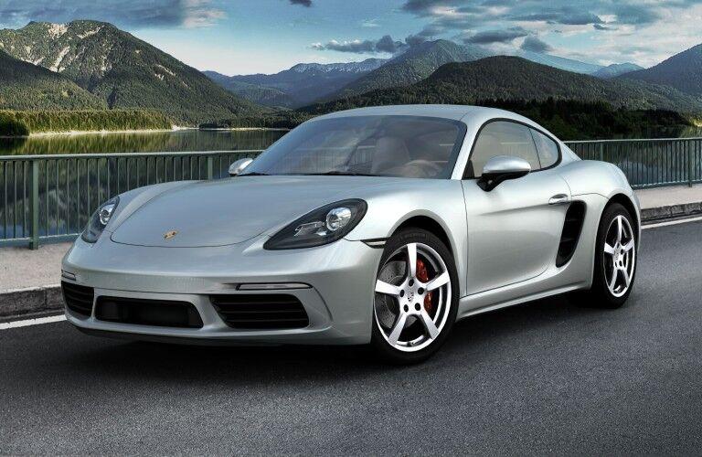 2021 Porsche 718 Cayman exterior styling