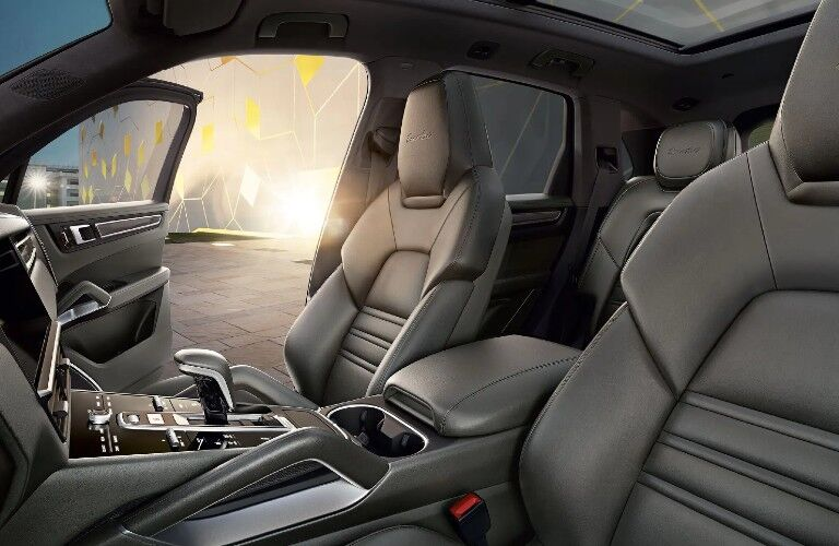 2021 Porsche Cayenne interior front seats