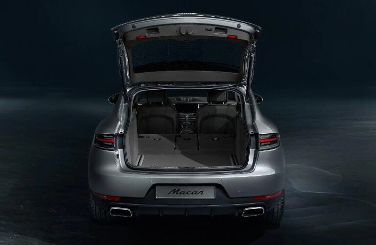 2021 Porsche Macan open liftgate