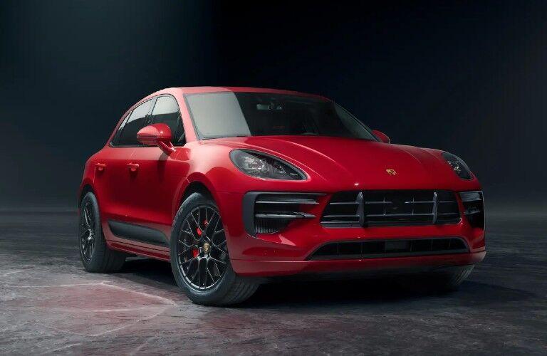 2021 Porsche Macan front fascia