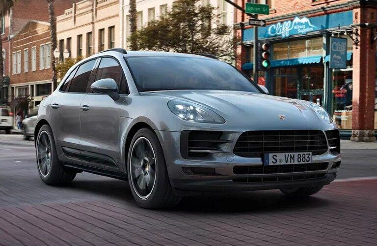 2021 Porsche Macan on city street
