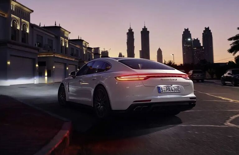 2021 Porsche Panamera rear profile