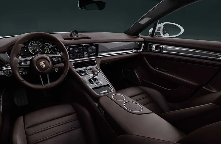 2021 Porsche Panamera front interior
