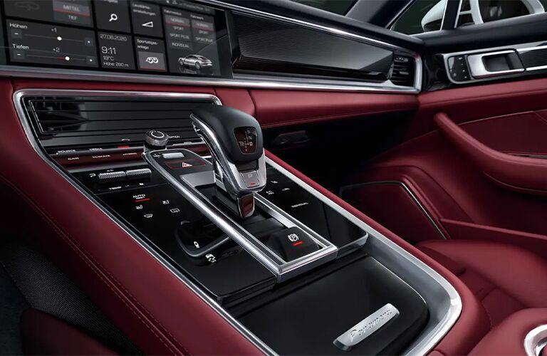 2021 Porsche Panamera shift knob