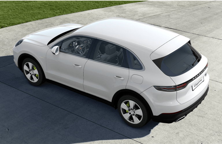 2021 Porsche Cayenne E-Hybrid on pavement