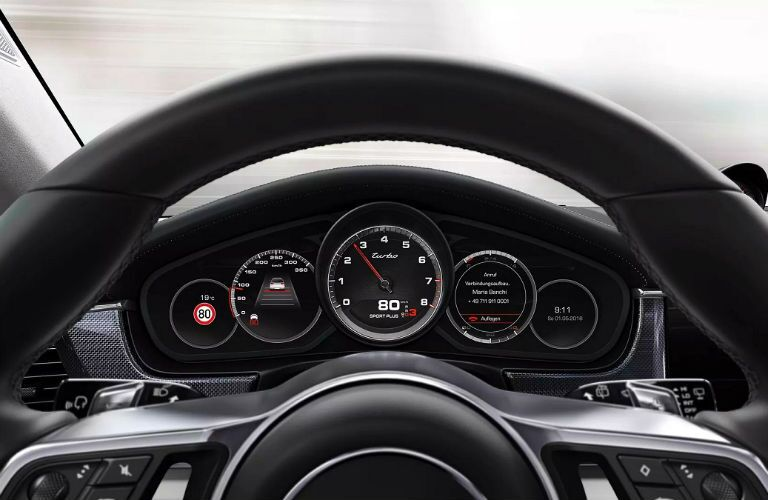instrument cluster in 2019 panamera