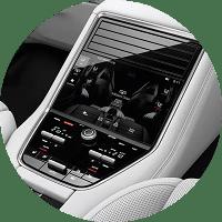 rear seat climate control in 2019 porsche panamera