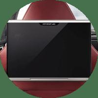 rear seat entertainment screen in 2019 porsche panamera