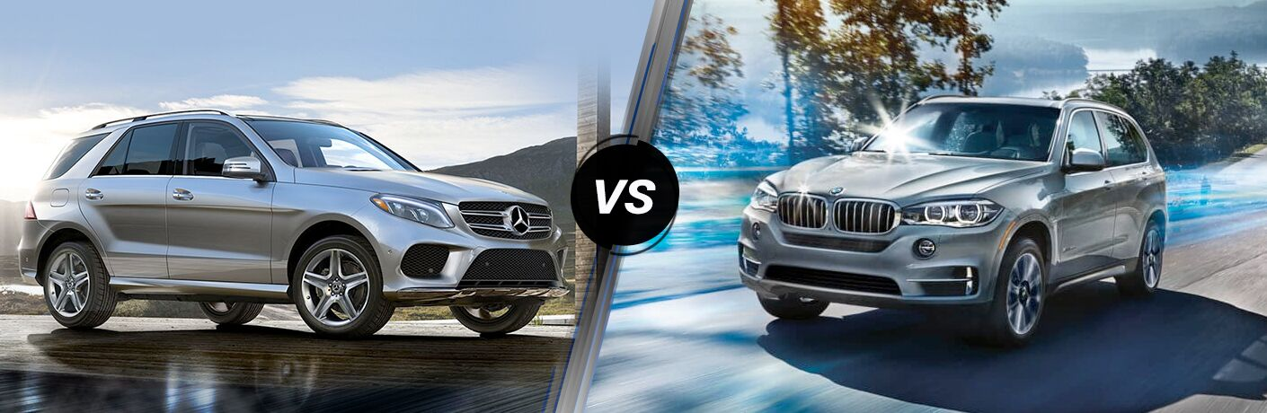 2018 Mercedes-Benz GLE 350 vs 2018 BMW X5