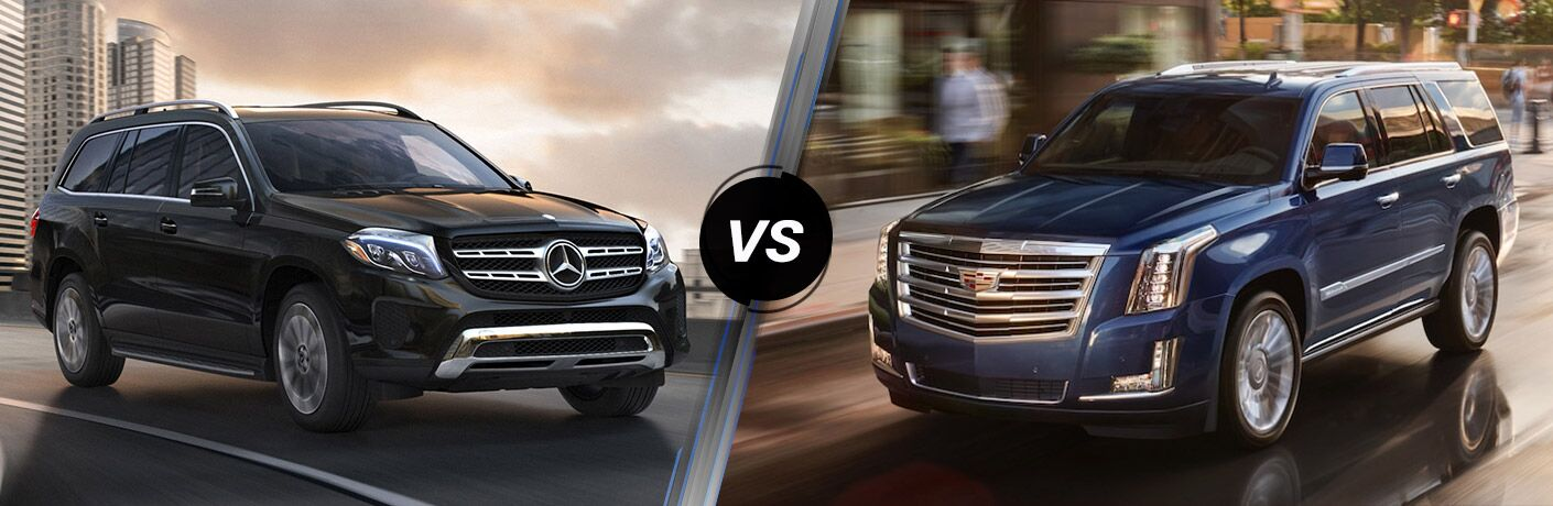 2018 Mercedes-Benz GLS vs 2018 Cadillac Escalade