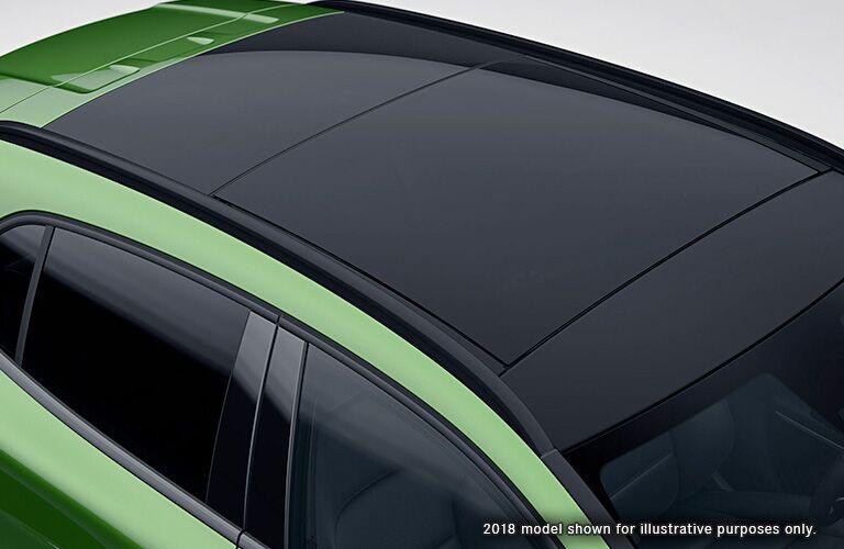 2018 Mercedes-Benz GLA 250 panoramic sunroof
