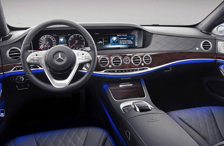 2019 Mercedes-Benz S 450 front interior