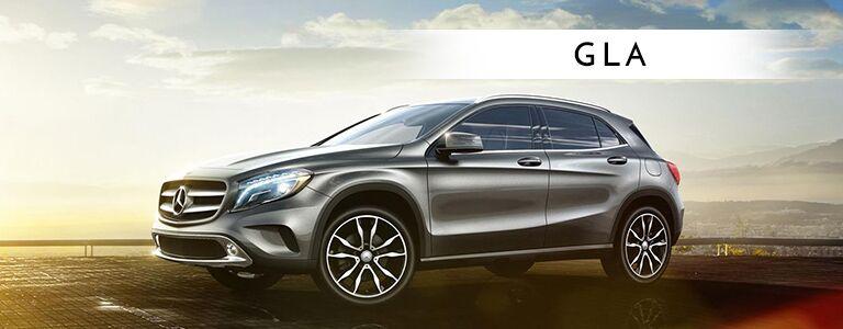 2018 Mercedes-Benz GLA exterior profile