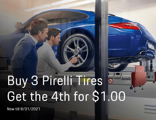New Porsche Tires Offer