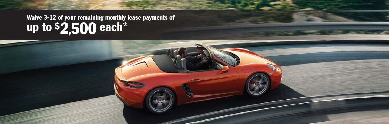 Lease Return at The Porsche Exchange