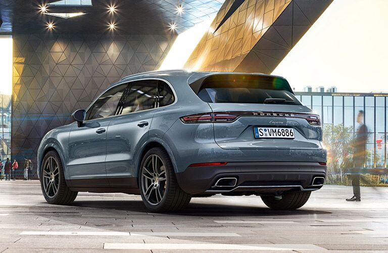 Porsche Cayenne rear view
