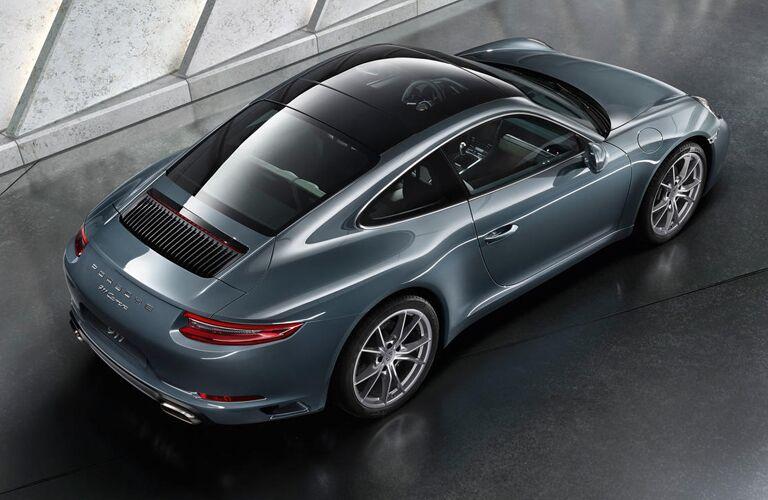 2019 Porsche 911 top view