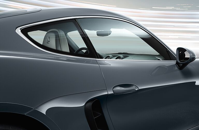 2019 Porsche 718 Cayman passenger window