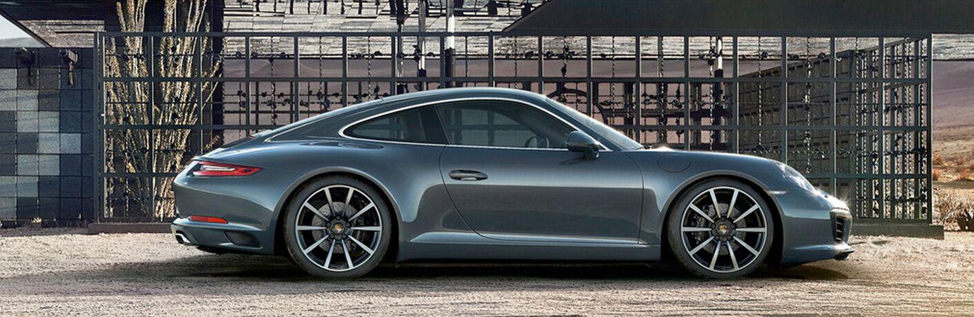 2018 Porsche 911 profile view