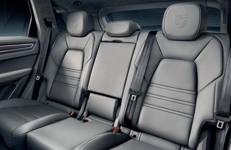 2018 Porsche Cayenne interior back seat