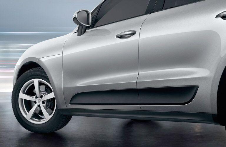 2018 Porsche Macan Exterior Front Wheel Side View Door