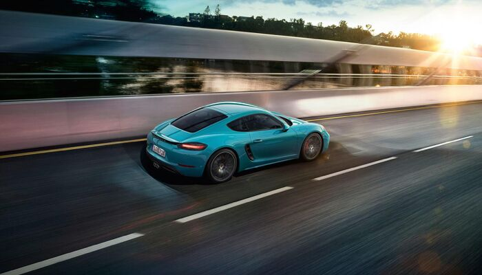 The 2019 Porsche 718 Cayman is one of the most athletic luxury sport cars available