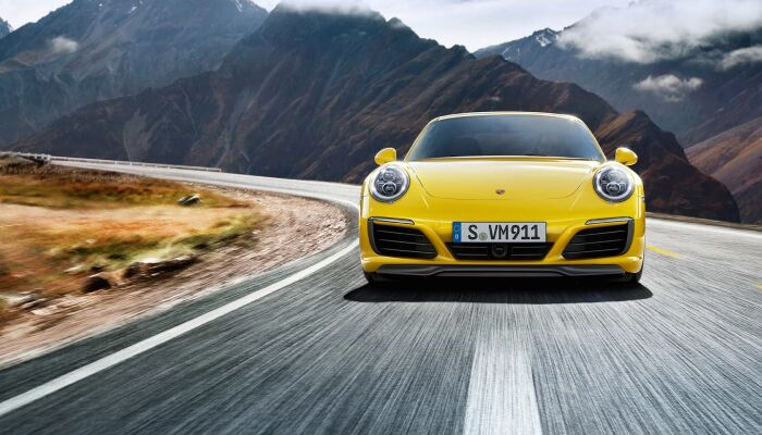 The high-performance 2019 Porsche 911 Carrera