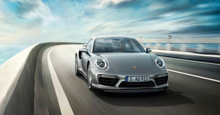 The high-performance 2019 Porsche 911 Turbo available from Loeber Motors Porsche near Wilmette, IL
