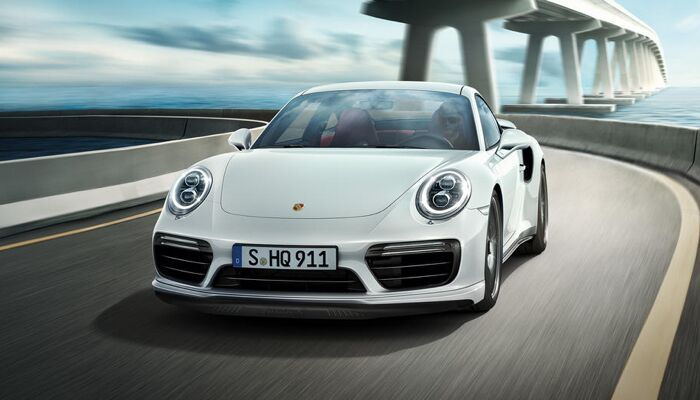 The high-performance 2019 Porsche 911 Turbo
