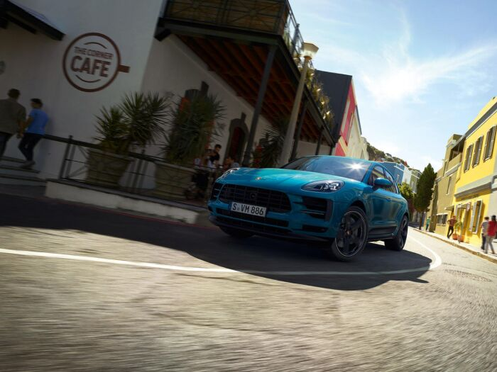 The 2019 Porsche Macan is a high performance SUV
