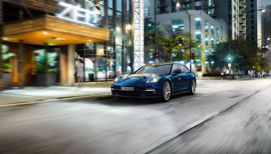 The high performance 2019 Porsche Panamera