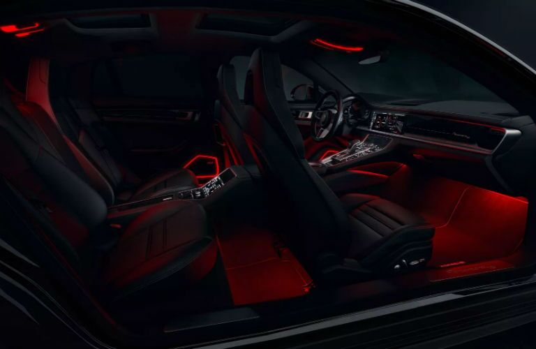 2020 Porsche Panamera Interior Cabin Seating