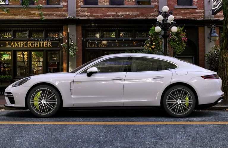 2020 Panamera E-Hybrid from exterior driver's side