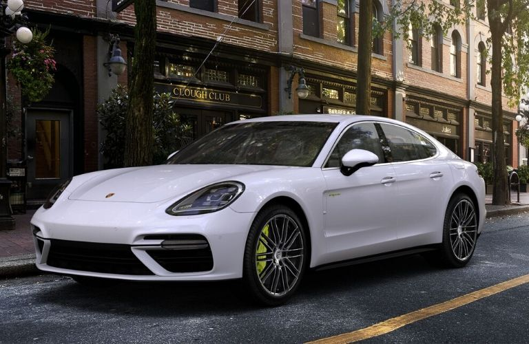 2020 Panamera E-Hybrid from exterior front driver's side