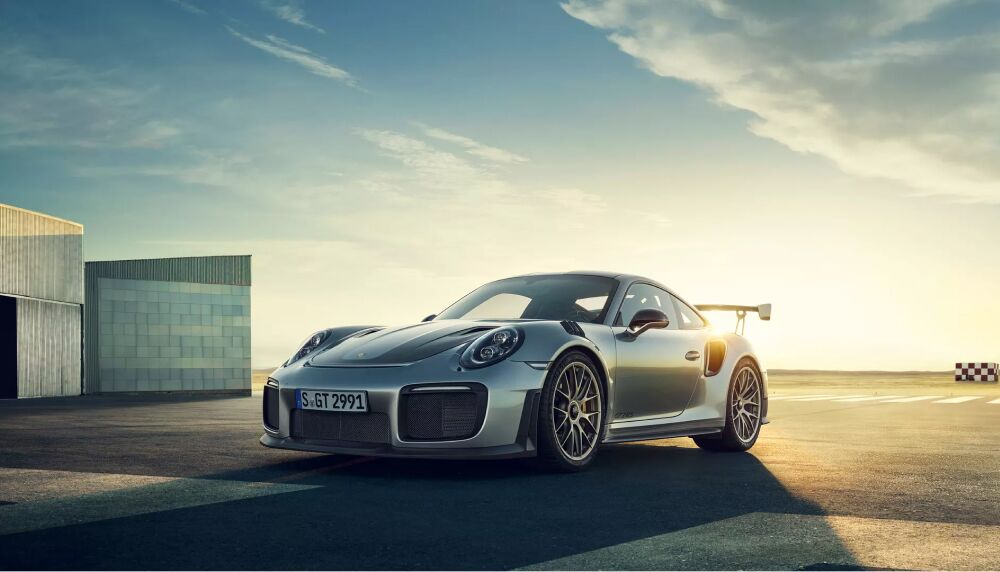 The Porsche 911 GT2 RS available at Loeber Porsche in Lincolnwood, IL