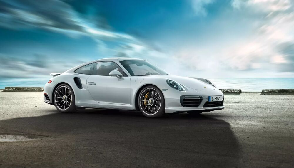 The Porsche 911 Turbo available at Loeber Porsche in Lincolnwood, IL