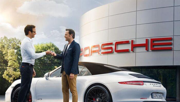 Finance a new Porsche from Loeber Motors Porsche