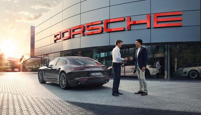 Finance a new Porsche from Loeber Porsche