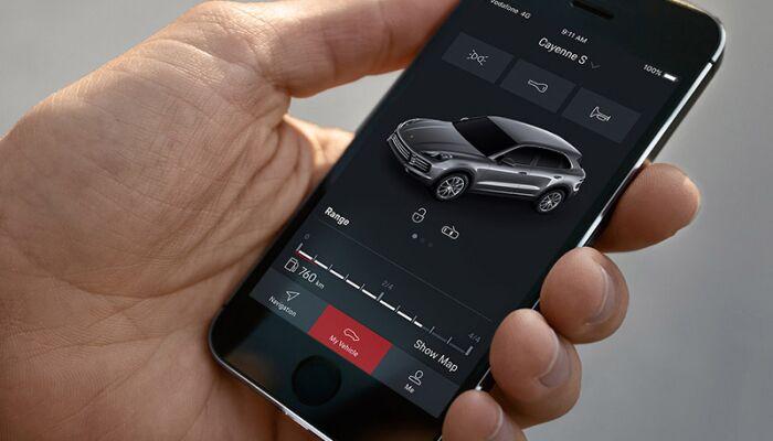 Porsche Connect App Car Remote
