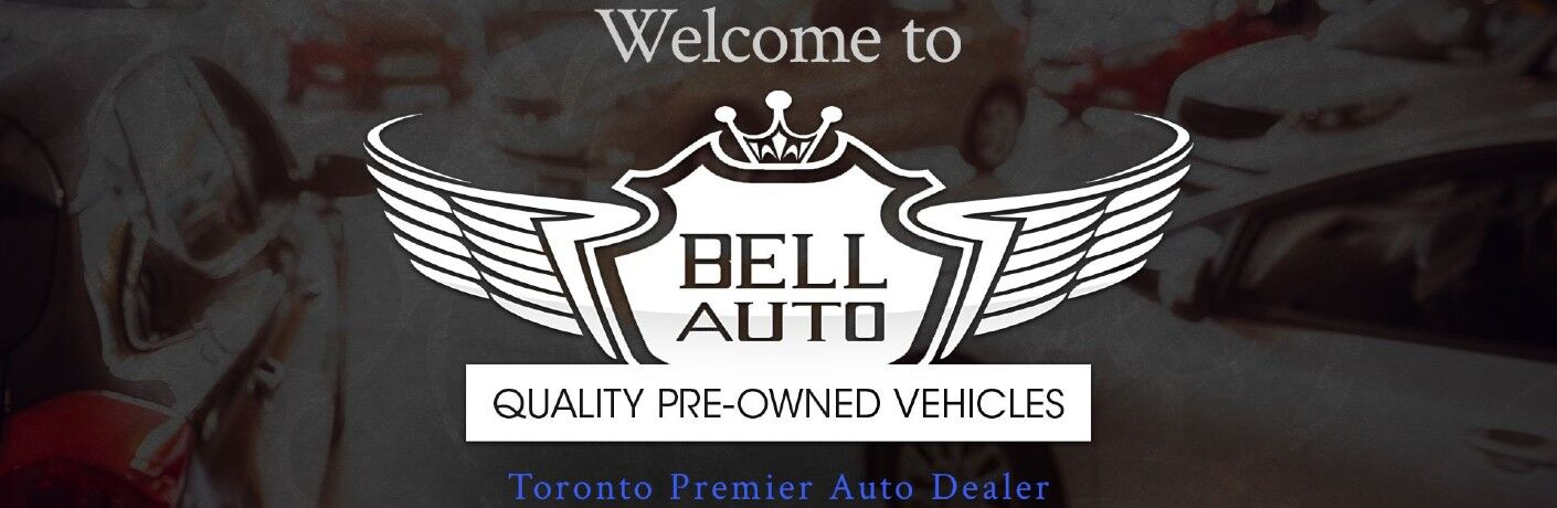 Bell Auto Toronto Pre-Owned Vehicles website logo banner
