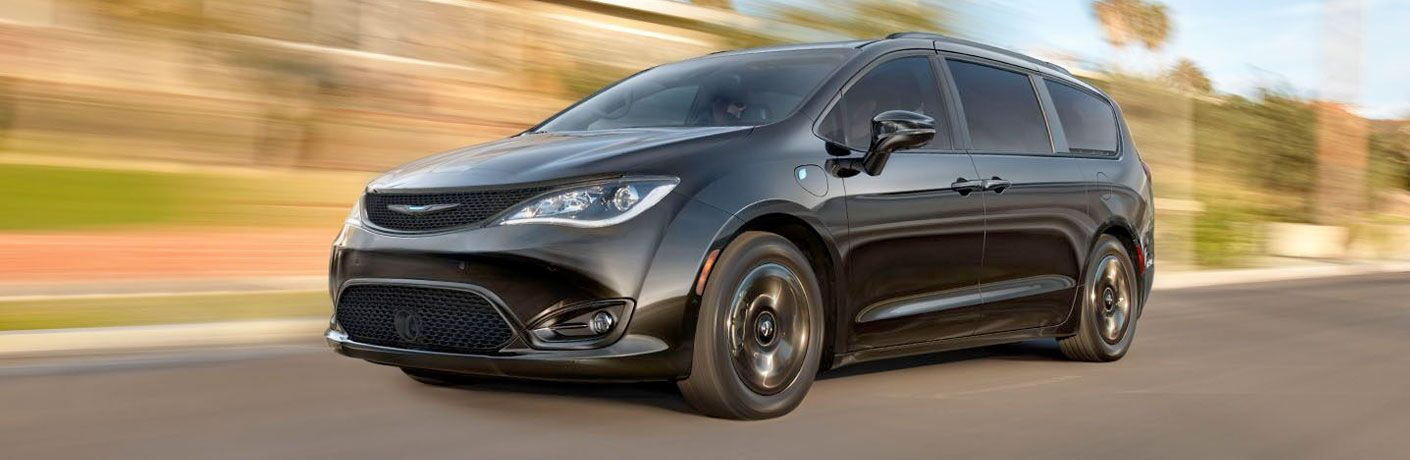 2020 Chrysler Pacifica driving down road