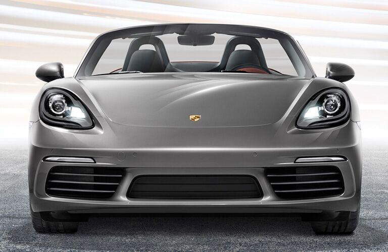 2018 Porsche 718 Boxster front exterior