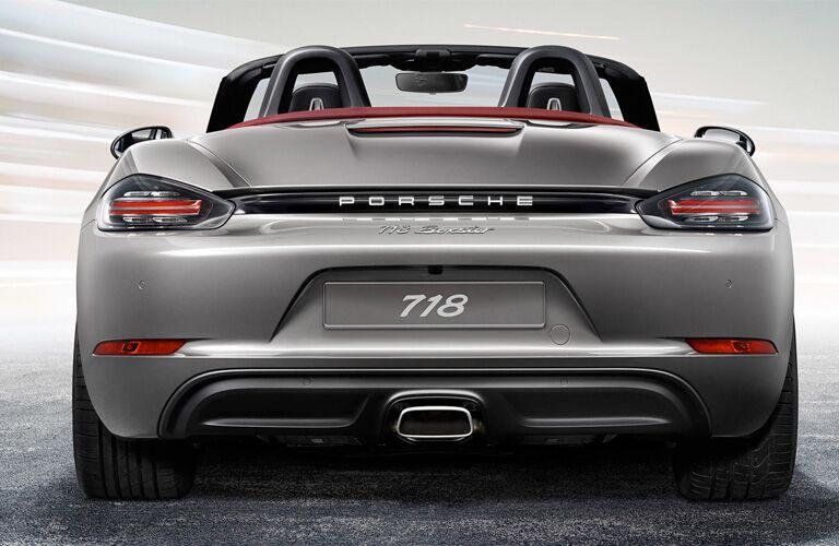 2018 Porsche 718 Boxster rear exterior