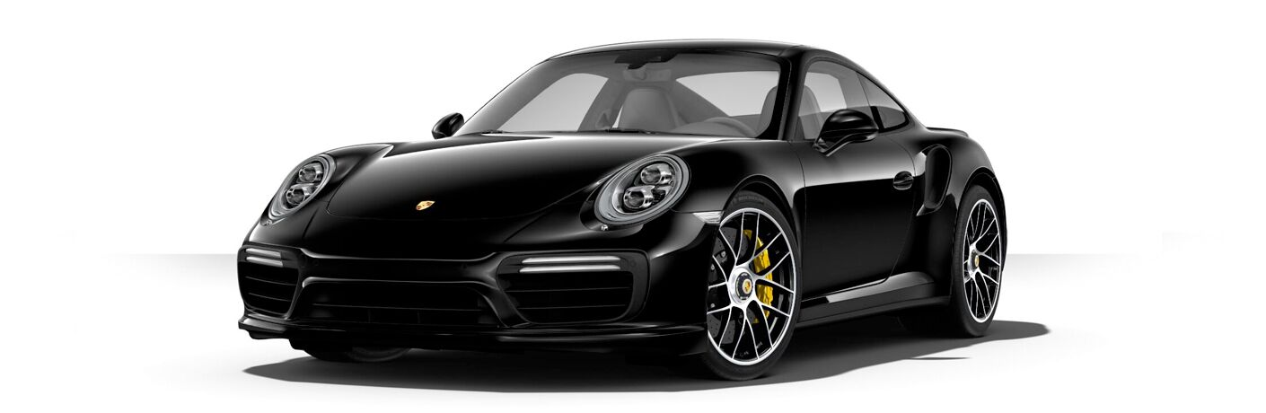 2018 Porsche 911 Turbo S exterior profile