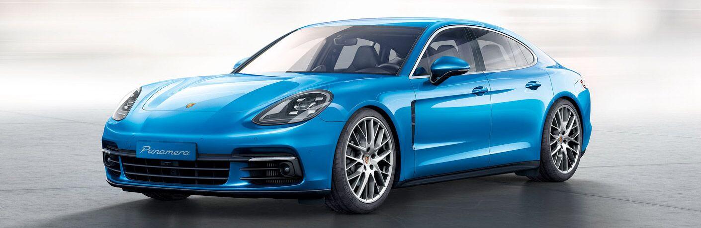 2018 Porsche Panamera exterior profile
