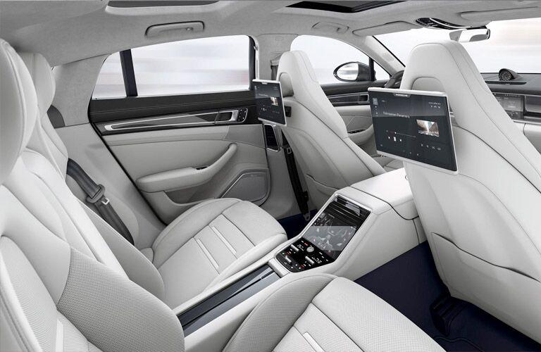 2018 Porsche Panamera rear interior