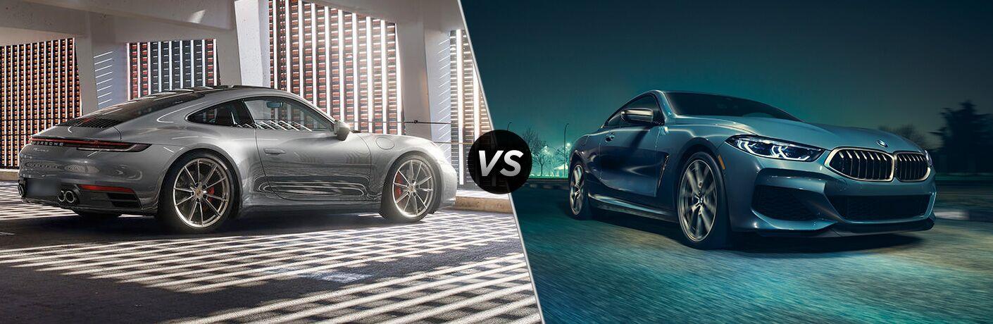 2019 Porsche 911 Carrera vs 2019 BMW 8-Series