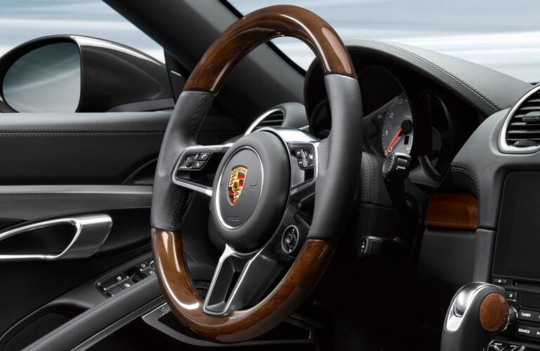 2019 Porsche 718 Cayman GTS steering wheel