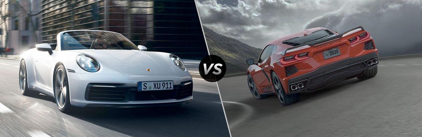 2020 Porsche 911 vs 2020 Chevy Corvette