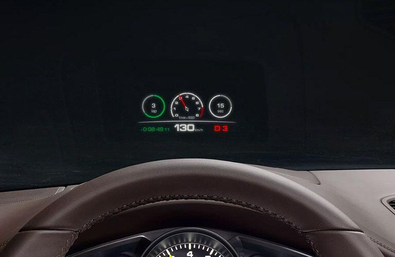 2020 Porsche Cayenne driver display